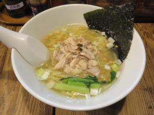 昆布の塩らー麺@昆布の塩らー麺専門店 MANNISH:ビジュアル