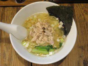昆布の塩らー麺@昆布の塩らー麺専門店 MANNISH:ビジュアル:トップ