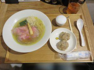 白醤油らーめん@清湯豚骨白醤油拉麺 LABO麺:ビジュアル:全体