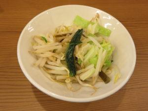 ラーメン 並@家系らーめん 武将家 外伝:ミニ茹で野菜
