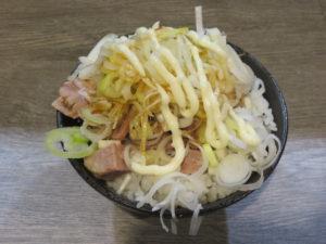 ラーメン@横浜家系ラーメン ぱたぱた家:ミニ丼