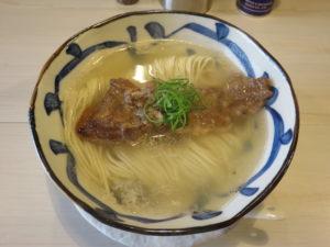鯛煮干の塩そば@タナカ ロボ:ビジュアル