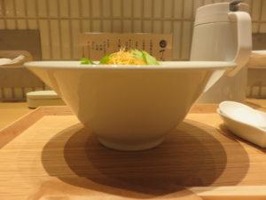 味噌担々麺(清湯)@てんせんめん:ビジュアル:サイド