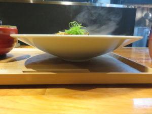 四川風麻婆豆腐soba@SHIBASAKITEI+:ビジュアル:サイド
