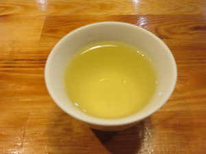 四川風麻婆豆腐soba@SHIBASAKITEI+:ジャスミン茶