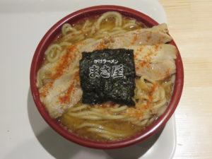 C麺 味噌(並・細麺・チャーシュー 並)@かけラーメン まさ屋 渋谷店:ビジュアル:トップ