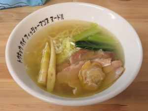 潮らぁ麺@Tokyo Bay Fisherman's noodle:ビジュアル