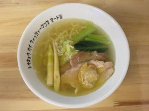 潮らぁ麺@Tokyo Bay Fisherman's noodle:ビジュアル:トップ