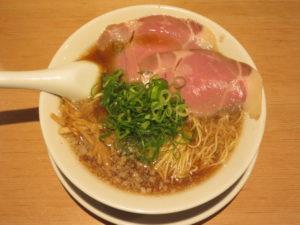 熟成醤油京都ラーメン(細麺)@京都ラーメン 森井:ビジュアル:トップ