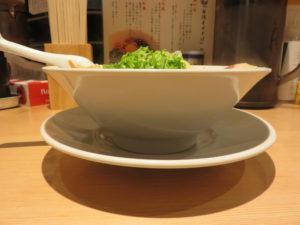 熟成醤油京都ラーメン(細麺)@京都ラーメン 森井:ビジュアル:サイド
