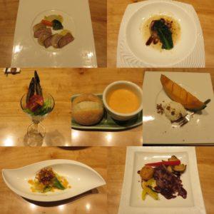 利@麺や 一途:コース料理