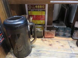 ホンダラーメン1号 純味@東京ラーメンショーselection 極み麺 拉麺 久留米 本田商店:卓上