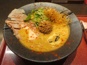 鯛担麺(3辛)@恋し鯛:ビジュアル