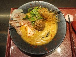 鯛担麺(3辛)@恋し鯛:ビジュアル:トップ