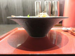 鯛担麺(3辛)@恋し鯛:ビジュアル:サイド