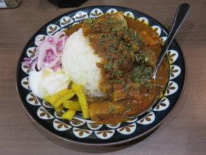 煮干ソバ@Noodle&Spice curry 今日の1番:セット スパイスカレー 1種