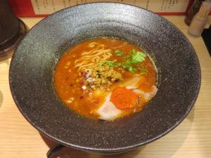 黒孔雀(5辛・太麺)@スパイスらぁ麺 喰JACK:ビジュアル
