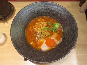 黒孔雀(5辛・太麺)@スパイスらぁ麺 喰JACK:ビジュアル:トップ