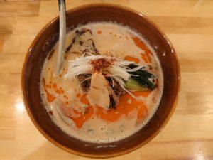 担々麺(辛さ5・しびれ5)@担々麺 麺山椒:ビジュアル:トップ