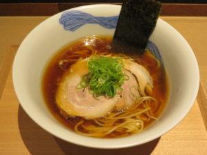 醤油らぁ麺@NIPPON RAMEN 凛 TOKYO:ビジュアル