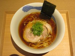 醤油らぁ麺@NIPPON RAMEN 凛 TOKYO:ビジュアル:トップ