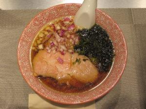 淡麗ニボシてもみ麺@麺や べらぼう:ビジュアル:トップ