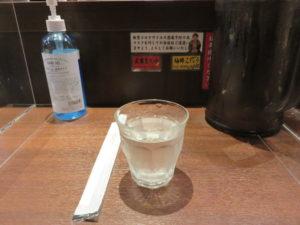 ら~麺(あっさり味)@創始麺屋武蔵:卓上