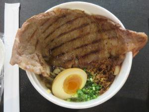 和牛ステーキラーメン@KURO-OBI MIYASHITA PARK店:ビジュアル:トップ