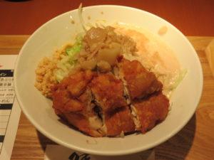 鶏あぶら麺(小)@油は快楽:ビジュアル