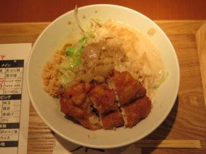 鶏あぶら麺(小)@油は快楽:ビジュアル:トップ