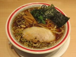 手打式旨味醤油そば@らーめん玉 田町店:ビジュアル