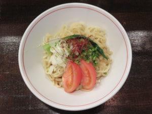 冷やし汁なし担々麺(並)@麺屋らんまる:ビジュアル:トップ