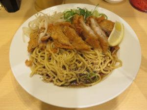 冷やし肉汁パーコー麺@肉汁麺ススム 新橋店:ビジュアル