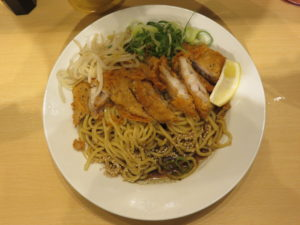 冷やし肉汁パーコー麺@肉汁麺ススム 新橋店:ビジュアル:トップ