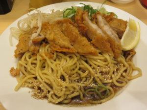 冷やし肉汁パーコー麺@肉汁麺ススム 新橋店:ビジュアル:アップ