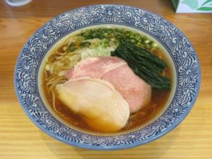 芳醇鶏そば醤油@麺屋いとう:ビジュアル