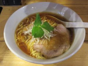 鶏そば@麺や ほころび:ビジュアル