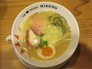 鶏白湯(塩)@la-men NIKKOU:ビジュアル:トップ