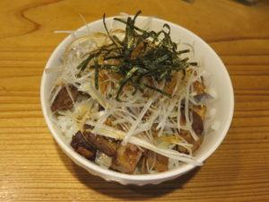 鶏白湯(塩)@la-men NIKKOU:炒豚飯