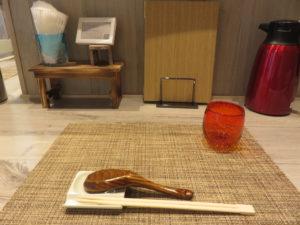 地蛤中華蕎麦(醤油)@LOKAHI:卓上