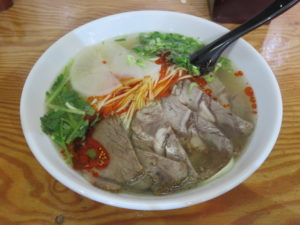 蘭州牛肉麺(細)@2020 蘭州牛肉麺:ビジュアル