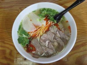 蘭州牛肉麺(細)@2020 蘭州牛肉麺:ビジュアル:トップ