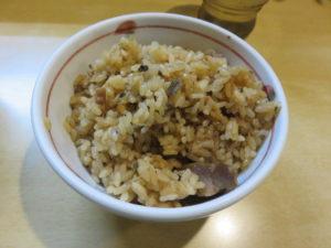 ラーメン@三代目 しゅう:いりこ飯