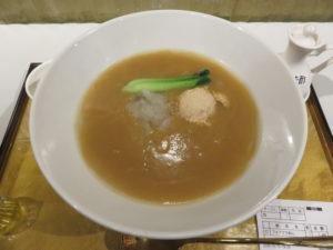 ふかひれ贅沢フォアグラ麺@フカヒレ フィンフィン 新橋店:ビジュアル