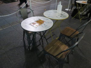 さくらんぼ鶏の鯛スープそば@丸の内×Japan47 ストリートレストラン:卓上