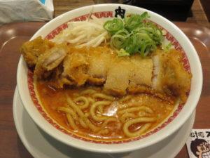 肉汁パーコー担々麺@肉汁麺ススム 下北沢店:ビジュアル