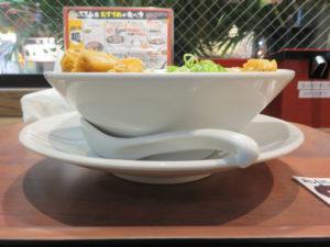 肉汁パーコー担々麺@肉汁麺ススム 下北沢店:ビジュアル:サイド