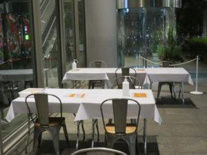 熊本味噌とショコラブランの天草大王ラーメン@丸の内×Japan47 ストリートレストラン:卓上