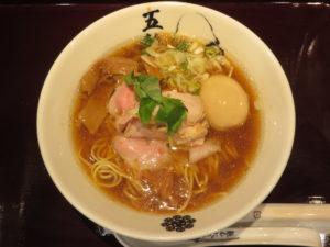 五輪洞ら~麺(並盛り)@麺屋武蔵 五輪洞:ビジュアル:トップ