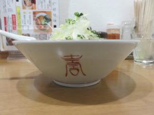千葉県勝浦風タンタンメン@魂麺 横浜反町店:ビジュアル:サイド